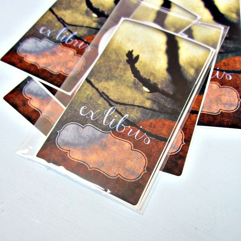 Art Bookplate ID Labels Featuring Original Photo Art: Myriad - product images  of