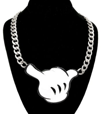 Cartoon,Hand,Necklace,cartoon hand necklace, dope necklace, hand necklace, necklace, cool necklace