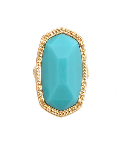 Blue,Bead,Stretch,Ring,Blue ring, blue stretch ring, gold ring, gold stretch ring, gold and blue stretch ring, ring, blue fashion jewelry stretch ring