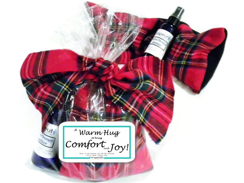 Warm Hug Christmas Gift, Comfort and Joy Gift under 20, Holiday Hug Hot Cold Pack - product images  of