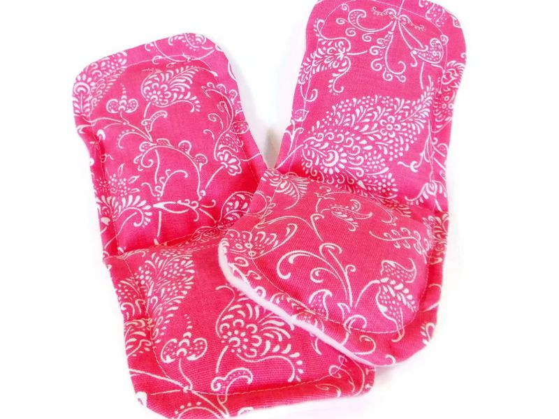 Heated Foot Pads, Microwave Socks or Slippers with Feet Heating Pads, Hot or Cold Packs for Feet - product images  of