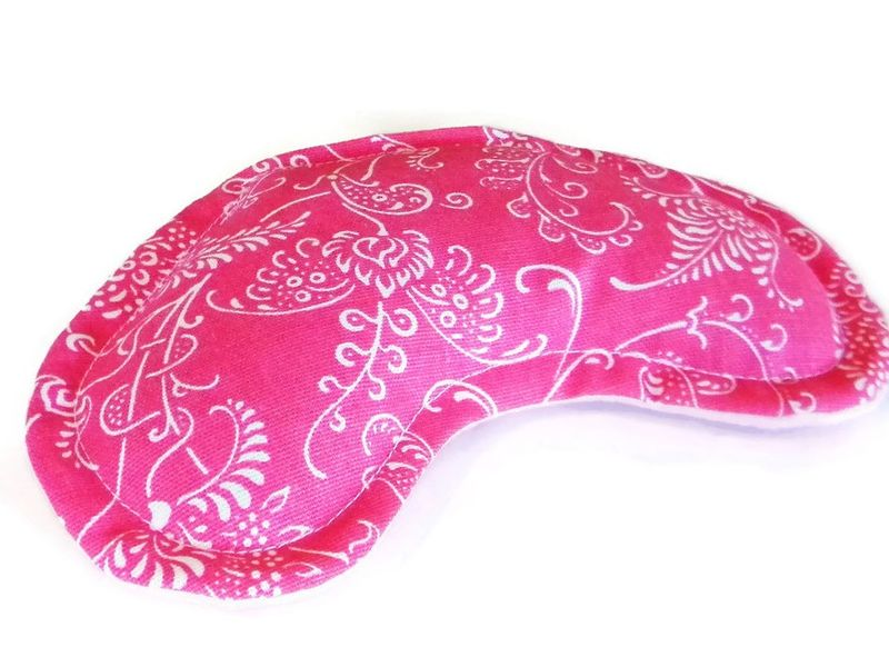 Eye Pack Eye Pillow, Kidney Shaped for Comfort, Scented or Unscented, Heat or Cool - product images  of