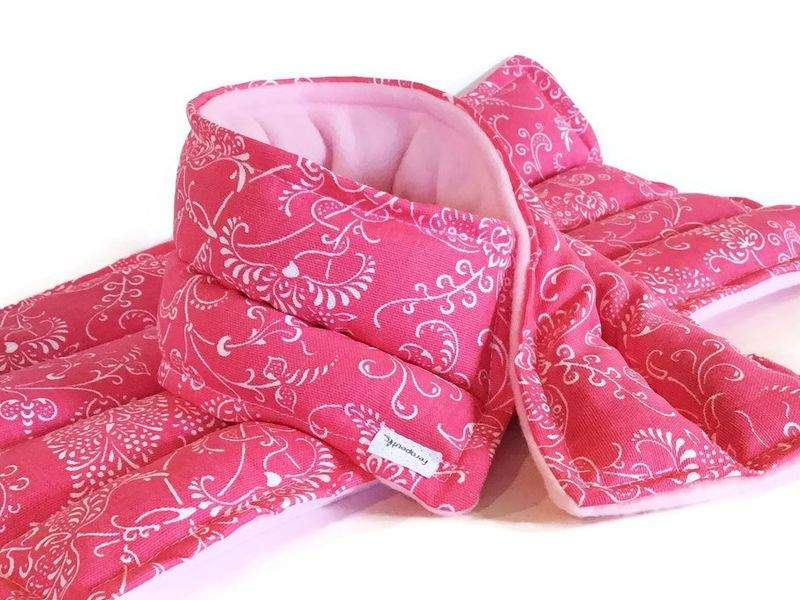 Large Microwave Heating Pad Set, Microwavable Neck Wrap and Large Heat Pack - product images  of