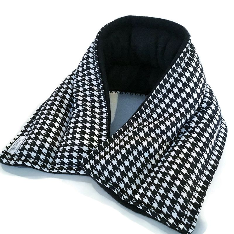 Microwave Neck Wraps Heat Pads, Neck Warmer Heating Pad, Hot Cold Packs for Neck - product images  of