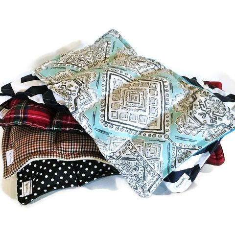 Bulk,MIcrowave,Heating,Pads,,Five,Medium,Hot,or,Cold,Packs,,Wholesale,Rice,Bags, Microwave heating pads, medium hot or cold packs, wholesale, rice bags