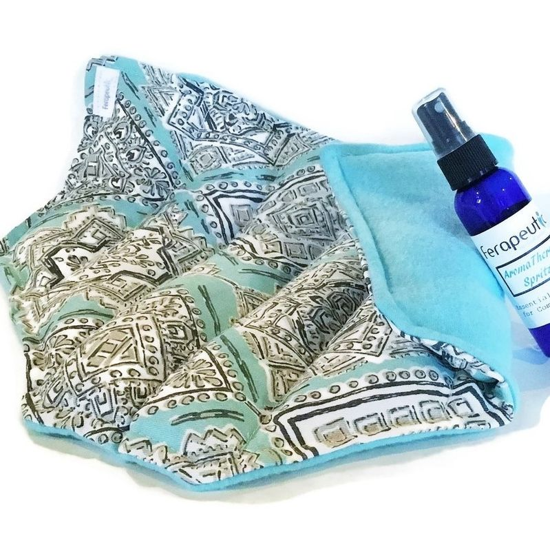 Microwave Heating Pad Cold Pack, Pregnancy, C Section, PostNatal Pain Natural Treatment - product images  of