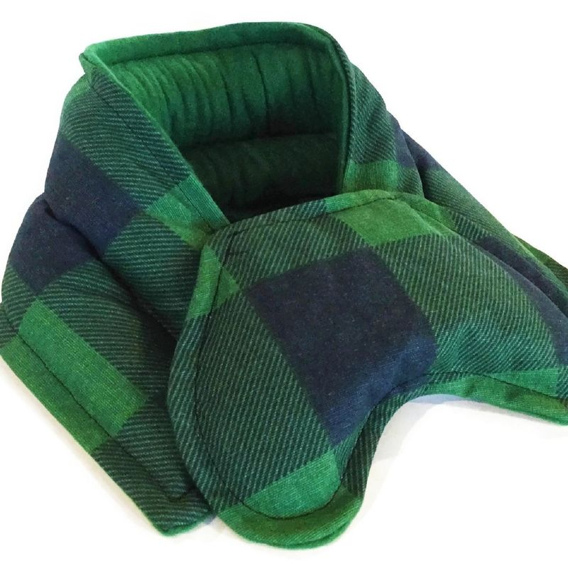 Heated Neck Wraps Eye Pillows, Hot Cold Packs, Microwave Heat Pads - product images  of