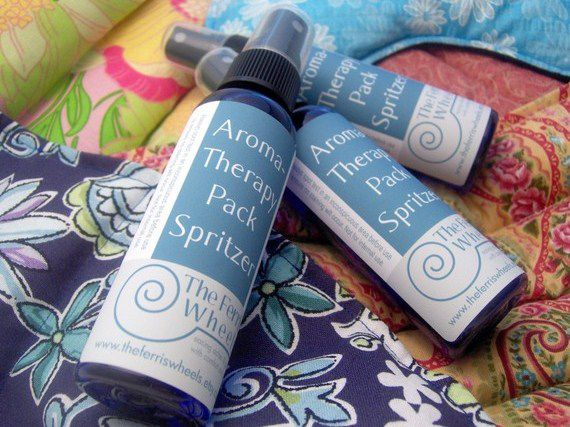Three Spritzers for Heat Packs Cold Packs, Aromatherapy for Microwave Heating Pads - product images