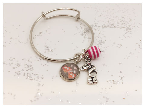 Pretty,Little,Wrist,bangle, kids jewellery, kids, owl