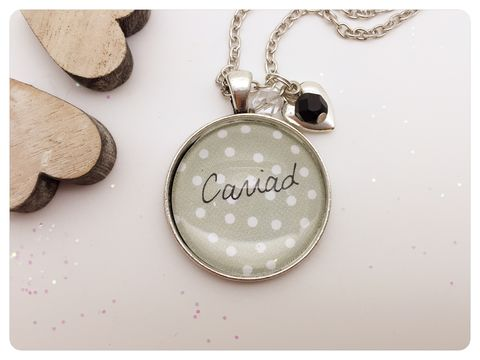 Cariad,Pendant,necklace, pendant, modern, colourful, cabochon, welsh, cariad, wales