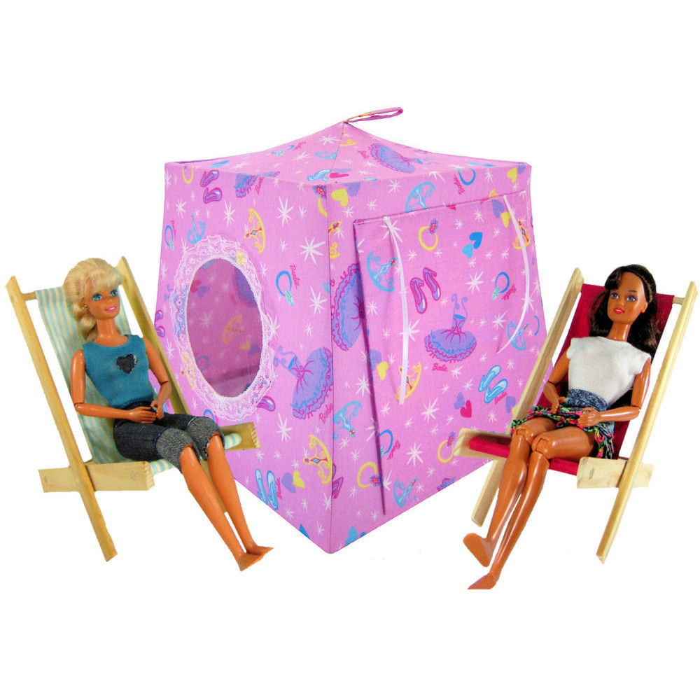 Light pink Toy Play Pop Up Tent 2 Sleeping Bags Barbie princess print fabric - Toy Tents And Chairs  sc 1 st  Toy Tents And Chairs & Light pink Toy Play Pop Up Tent 2 Sleeping Bags Barbie princess ...