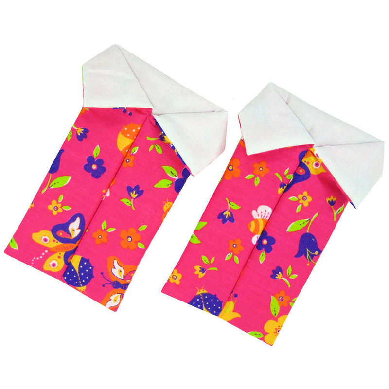Pink Toy Play Pop Up Tent, 2 Sleeping Bags, flower & butterfly print fabric - product images  of