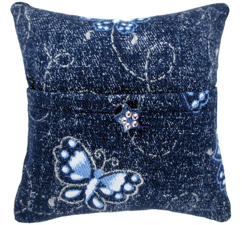 Tooth,Fairy,Pillow,,navy,blue,,butterfly,print,fabric,,star,bead,trim,for,girls,navy blue tooth fairy pillow,fabric tooth fairy pillows,tooth fairy,tooth fairy pillows,butterfly print fabric pillow,unique gift for girls,pillow for stuffed animals,pillow with pocket,pillow tooth fairy,tooth pillow