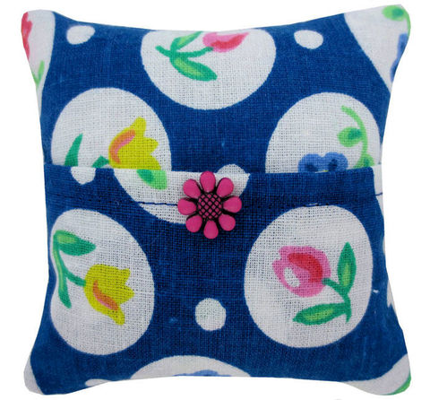 Tooth,Fairy,Pillow,,navy,blue,,flower,&,circle,print,fabric,,pink,button,trim,for,girls,navy blue tooth fairy pillow,fabric tooth fairy pillows,tooth fairy,tooth fairy pillows,flower and circle print fabric pillow,unique gift for girls,pillow for stuffed animals,pillow tooth fairy,tooth pillow,toy pillow,childs gift, pink flower button trim