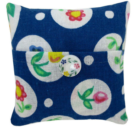 Tooth,Fairy,Pillow,,navy,blue,,flower,&,circle,print,fabric,,white,floral,button,trim,for,girls,navy blue tooth fairy pillow,fabric tooth fairy pillows,tooth fairy,tooth fairy pillows,flower and circle print fabric pillow,unique gift for girls,pillow for doll,pillow tooth fairy,tooth pillow,toy pillow,childrens gift, white floral button trim,handmad