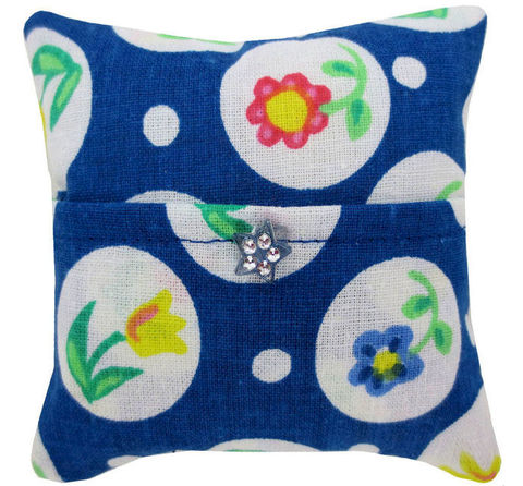 Tooth,Fairy,Pillow,,navy,blue,,flower,&,circle,print,fabric,,blue,and,silver,button,trim,for,girls,navy blue tooth fairy pillow,fabric tooth fairy pillows,tooth fairy,tooth fairy pillows,flower and circle print fabric pillow,unique gift for girls,doll pillow,pillow tooth fairy,tooth pillow,toy pillow,kids gift, blue and silver flower button trim,handma