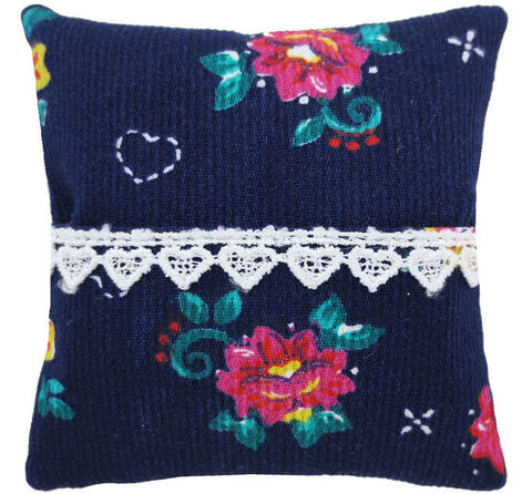 Tooth,Fairy,Pillow,,navy,blue,,floral,print,fabric,,white,heart,lace,trim,for,girls,navy blue tooth fairy pillow,fabric tooth fairy pillows,tooth fairy,tooth fairy pillows,floral print fabric pillow