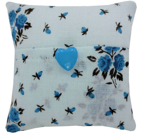 Light,blue,Tooth,Fairy,Pillow,,rose,print,fabric,,heart,button,trim,light blue tooth fairy pillow,fabric tooth fairy pillows,tooth fairy,tooth fairy pillows,rose print fabric pillow,unique gift for girls,pillow for dolls,doll pillow,pillow tooth fairy,tooth pillow,toy pillow,childrens gift, blue heart button trim,handmade