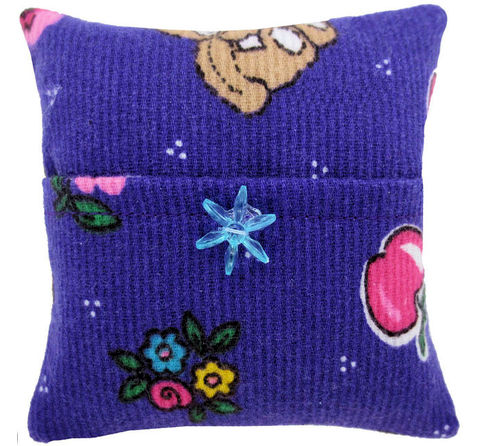 Tooth,Fairy,Pillow,,purple,,bear,&,flower,print,fabric,,blue,bead,trim,for,girls,purple tooth fairy pillow,fabric tooth fairy pillows,tooth fairy,tooth fairy pillows,bear and flower print fabric pillow,unique gift for girls,stuffed animal pillow, pillow with pocket,pillow tooth fairy,tooth pillow,toy pillow,kids gift, blue flower bead