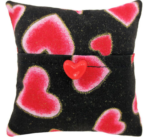 Tooth,Fairy,Pillow,,black,,heart,print,fabric,,red,button,trim,for,girls,black tooth fairy pillow,fabric tooth fairy pillows,tooth fairy,tooth fairy pillows,heart print fabric pillow,unique gift for girls,doll pillow,pillow with pocket,pillow tooth fairy,tooth pillow,toy pillow,childs gift, red heart button trim, handmade toot