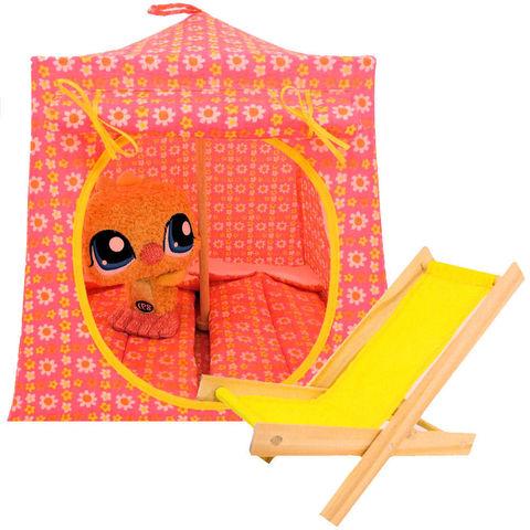Pink Toy Play Pop Up Tent 2 Sleeping Bags Tie Dye Heart