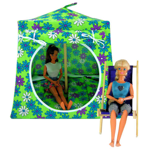 Lime,green,Toy,Play,Pop,Up,Tent,,2,Sleeping,Bags,,daisy,print,fabric,toy play pop up tent,toy pop up tent,fabric toy tents,kids play tents,lime green tent,daisy print tent,girls toys,Barbie doll tent,dollhouse,doll camping,pretend play tent,sleeping bags,handmade toy tent,toytentsandchairs