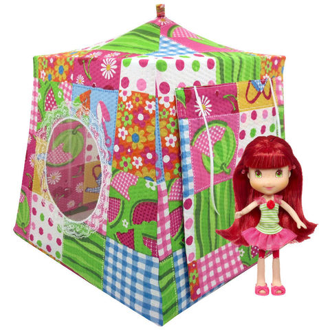 Multicolor,Toy,Play,Pop,Up,Tent,,2,Sleeping,Bags,,gardening,print,fabric,toy play pop up tent,fabric toy tents,kids play tents,multicolor fabric tent,gardening print tent,girls toy,Strawberry Shortcake doll tent,doll tent,fabric doll house,gift for kids,bright green sleeping bags,handmade toy tent,toytentsandchairs