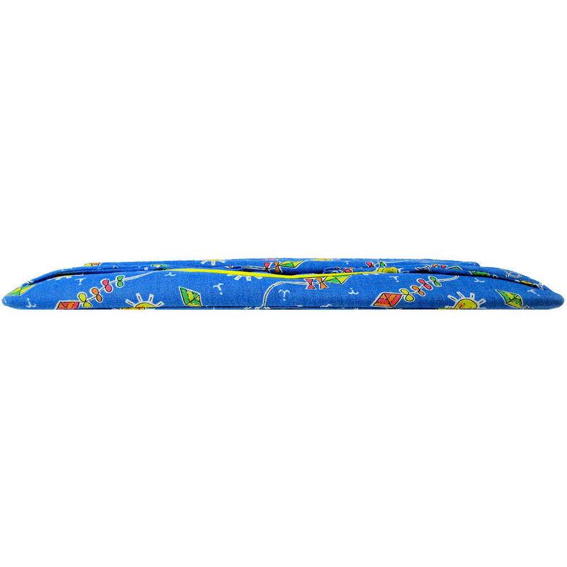 Light Blue Toy Play Pop Up Tent 2 Sleeping Bags Kite