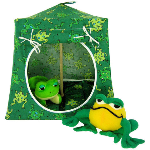 Green,Toy,Play,Pop,Up,Tent,,2,Sleeping,Bags,,frog,print,fabric,toy play pop up tent,toy pop up tent,fabric toy tents,kids play tents,green tent,frog print  tent,toy for kids,Beanie Baby tent,stuffed animal house,playhouse,child pretend play,sleeping bags,handmade toy tent,toytentsandchairs