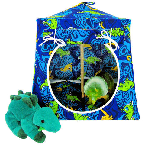 Blue,Toy,Play,Pop,Up,Tent,,2,Sleeping,Bags,,dinosaur,print,fabric,toy play pop up tent,toy pop up tent,fabric toy tents,kids play tents,blue  fabric tent,dinosaur print tent,play camping,stuffed animal tent,toy for kids,boys gift,play tent,sleeping bags,handmade toy tent,toytentsandchairs