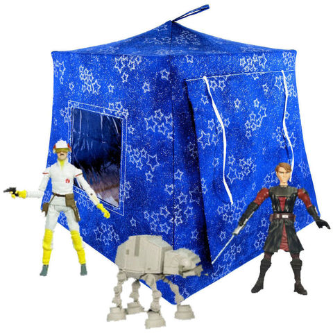 Royal,blue,Toy,Play,Pop,Up,Tent,,2,Sleeping,Bags,,sparkling,star,print,fabric,toy play pop up tent,toy pop up tent,fabric toy tents,kids play tents,royal blue tent,sparkling star tent,boy toy,Star Wars tent,action figure tents,play camping toy,doll tent,blue sleeping bags,handmade toy tent,toytentsandchairs