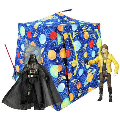 Royal,blue,Toy,Play,Pop,Up,Tent,,2,Sleeping,Bags,,solar,system,sparkle,print,fabric,toy play pop up tent,toy pop up tent,kids play tents,toy for boys,royal blue tent,solar system tent,childrens toy,Star Wars tent, sparkling fabric tent,action figures tent,toy tents,yellow sleeping bags,handmade toy tent,toytentsandchairs