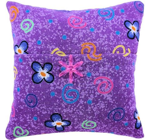 Tooth,Fairy,Pillow,,purple,,spiral,&,flower,print,fabric,,pink,bead,trim,for,girls,purple tooth fairy pillow,fabric tooth fairy pillows,tooth fairy,tooth fairy pillows,spiral flower print fabric pillow, unique gift for girls,Barbie pillow,pillow with pocket,pillow tooth fairy,tooth pillow,toy pillow,kids gift, pink flower bead trim,hand