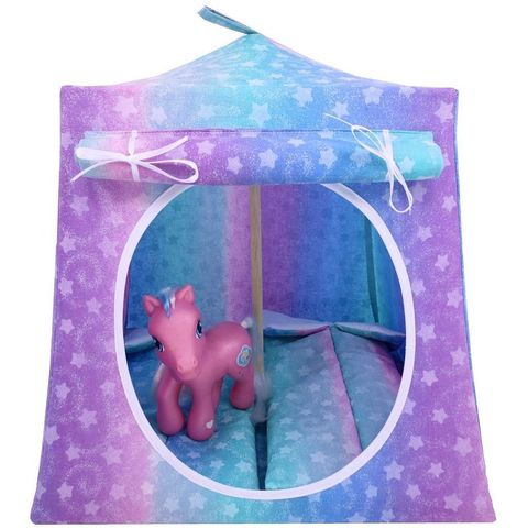 Pastel,Toy,Play,Pop,Up,Tent,,2,Sleeping,Bags,,glitter,star,print,fabric,toy play pop up tent,fabric toy tents,kids play tents,pastel fabric tent,star print tent,toy for girls,My Little Pony tent,doll tent,play camping,gift for children,light pink sleeping bags,handmade play tent,toytentsandchairs