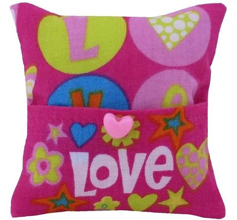 Tooth,Fairy,Pillow,,pink,,heart,and,Barbie,print,fabric,,pink,button,trim,for,girls,pink tooth fairy pillow,fabric tooth fairy pillows,tooth fairy,tooth fairy pillows,heart and Barbie print fabric pillow,unique gift for girls,pillow for dolls,pillow with pocket,pillow tooth fairy,tooth pillow,toy pillow,child gift, pink heart button trim