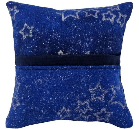 Tooth,Fairy,Pillow,,royal,blue,,sparkling,star,print,fabric,,navy,blue,bias,tape,trim,for,boys,or,girls,royal blue tooth fairy pillow,fabric tooth fairy pillows,tooth fairy,tooth fairy pillows,sparkling star print fabric pillow,gift for boys or girls,boy tooth pillow,pillow for action figures,pillow with pocket,pillow tooth fairy, tooth pillow,toy pillow,ch