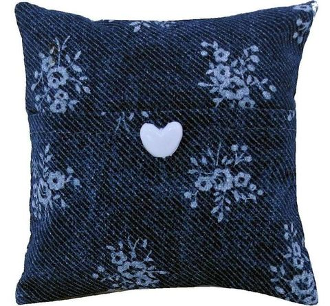 Tooth,Fairy,Pillow,,navy,blue,,flower,print,fabric,,white,button,trim,tooth fairy pillow,fabric tooth fairy pillows,tooth fairy,navy blue tooth fairy pillow,flower print fabric pillow,unique gift for girls,pillow for dolls, pillow tooth fairy,tooth pillow,gift for child, white heart button trim,handmade tooth fairy pillows