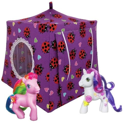 Purple,Toy,Play,Pop,Up,Tent,,2,Sleeping,Bags,,ladybug,and,heart,print,fabric,toy play pop up tent,fabric toy tents,kids play tents,purple fabric tent,ladybug print fabric, toy for girls,My Little Pony tent,dollhouse,play camping,gift for children,yellow sleeping bags, handmade doll tent,toytentsandchairs