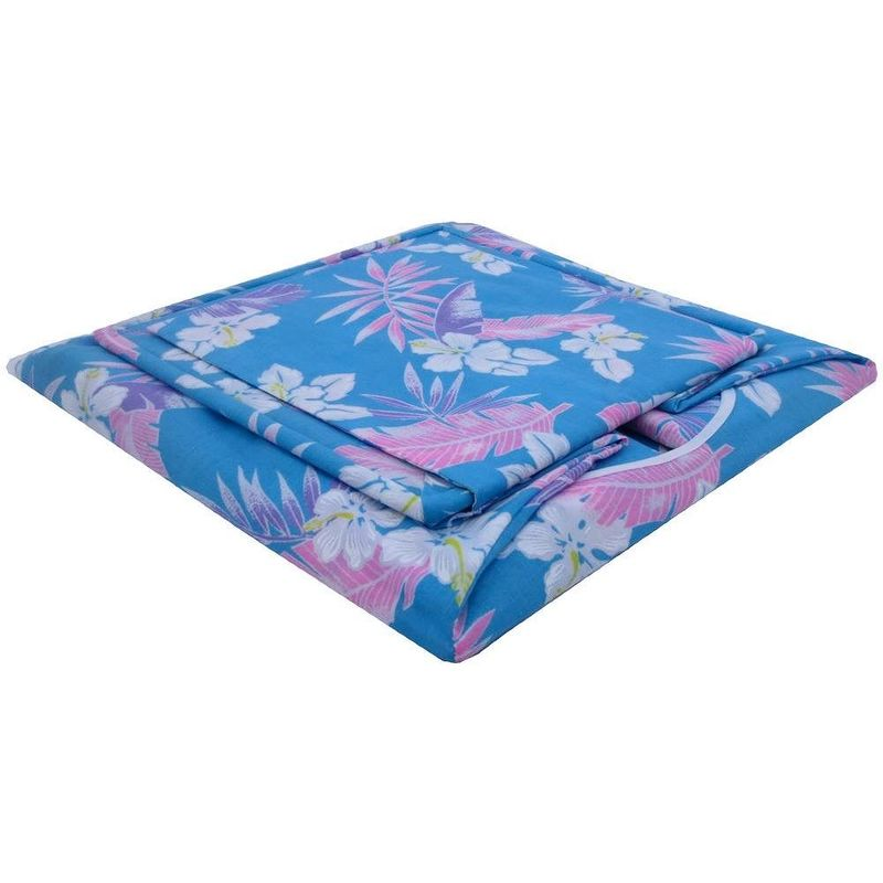 Aqua Toy Play Pop Up Tent, 2 Sleeping Bags, flower print fabric - product images  of