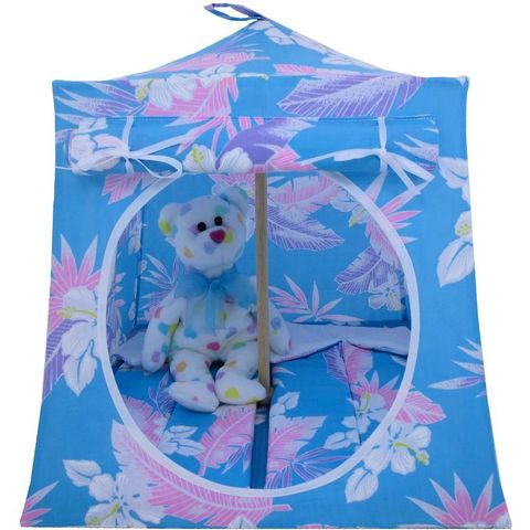 Aqua,Toy,Play,Pop,Up,Tent,,2,Sleeping,Bags,,flower,print,fabric,toy play pop up tent,fabric toy tents,kids play tents,aqua fabric tent,flower print tent,girl toy,stuffed animal tent,doll tent,dollhouse,gift for kids,sleeping bags,handmade play tent,toytentsandchairs