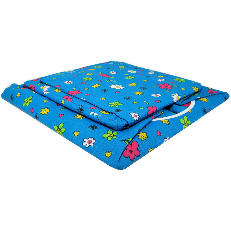 Aqua Toy Play Pop Up Tent, 2 Sleeping Bags, flower & heart print fabric - product images  of