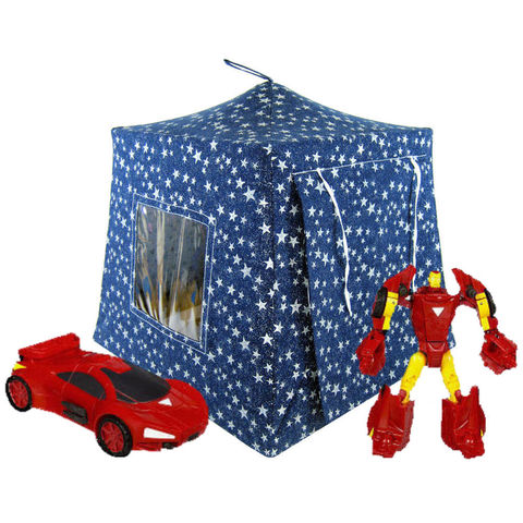 Navy,blue,Toy,Play,Pop,Up,Tent,,2,Sleeping,Bags,,sparkling,silver,star,print,fabric,toy play pop up tent,toy pop up tent,fabric toy tents,play toy tent,navy blue tent,silver star tent,kids toys,Transformer tent,action figure tents,toy for children,play camping tents,sleeping bags,handmade toys,toytentsandchairs