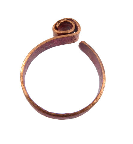 Earth spiral ribbon ring - product images  of
