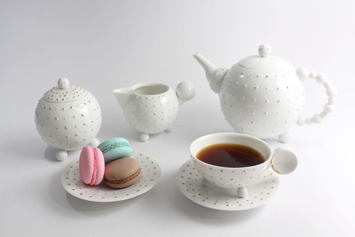 Consummate Fortune  (coffee cup & saucer x 2)  圓圓滿滿 咖啡杯盤組 (可單件選購) - product images  of