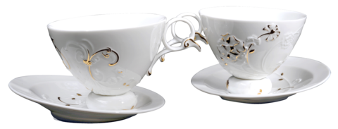 Baroque,Style,Flower,(coffee,cup,&,saucer,x2),午茶巴洛克,tableware, coffee, coffee cup, 咖啡杯