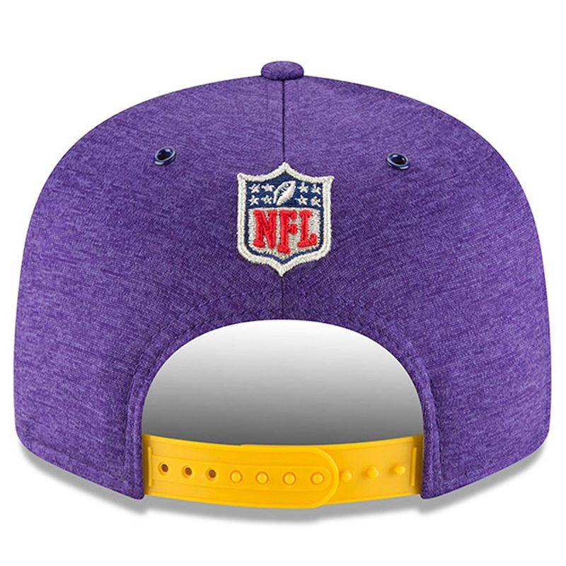 various colors 3433d 84e09 ... Minnesota Vikings New Era 2018 NFL Sideline Home Official 9FIFTY  Snapback Cap - product images of ...