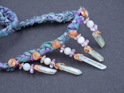 Green,Aura,Quartz,,Amethyst,and,Amazonite,necklace,aura quartz necklace,aura quartz jewellery,aura quartz jewelry,green aura quartz necklace,amethyst necklace,amethyst jewellery,amazonite necklace,amazonite jewellery,amazonite jewelry