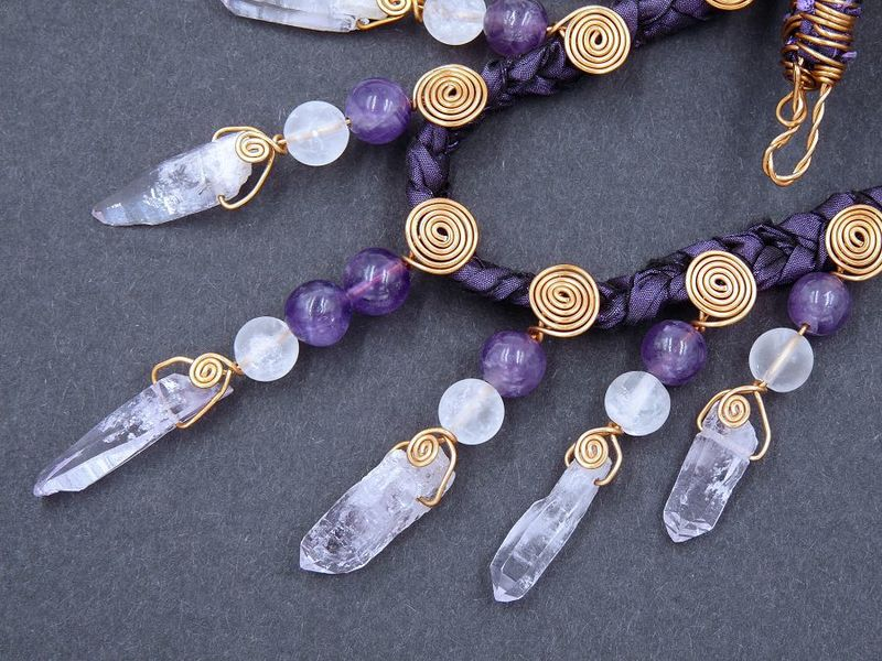 Vera Cruz Amethyst necklace - product image