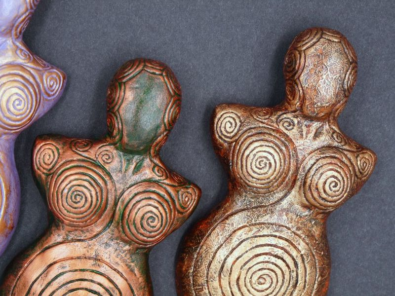 Spiral Goddess Wall Plaques - product image