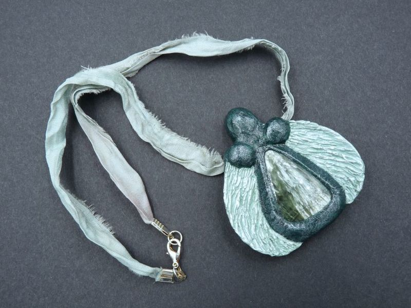 Seraphinite Angel Goddess Necklace - product image
